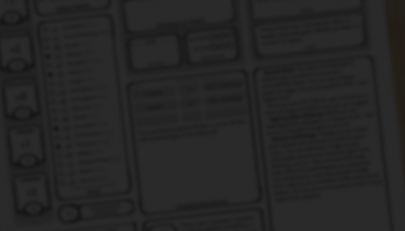 Auto-Fill Character Sheet
