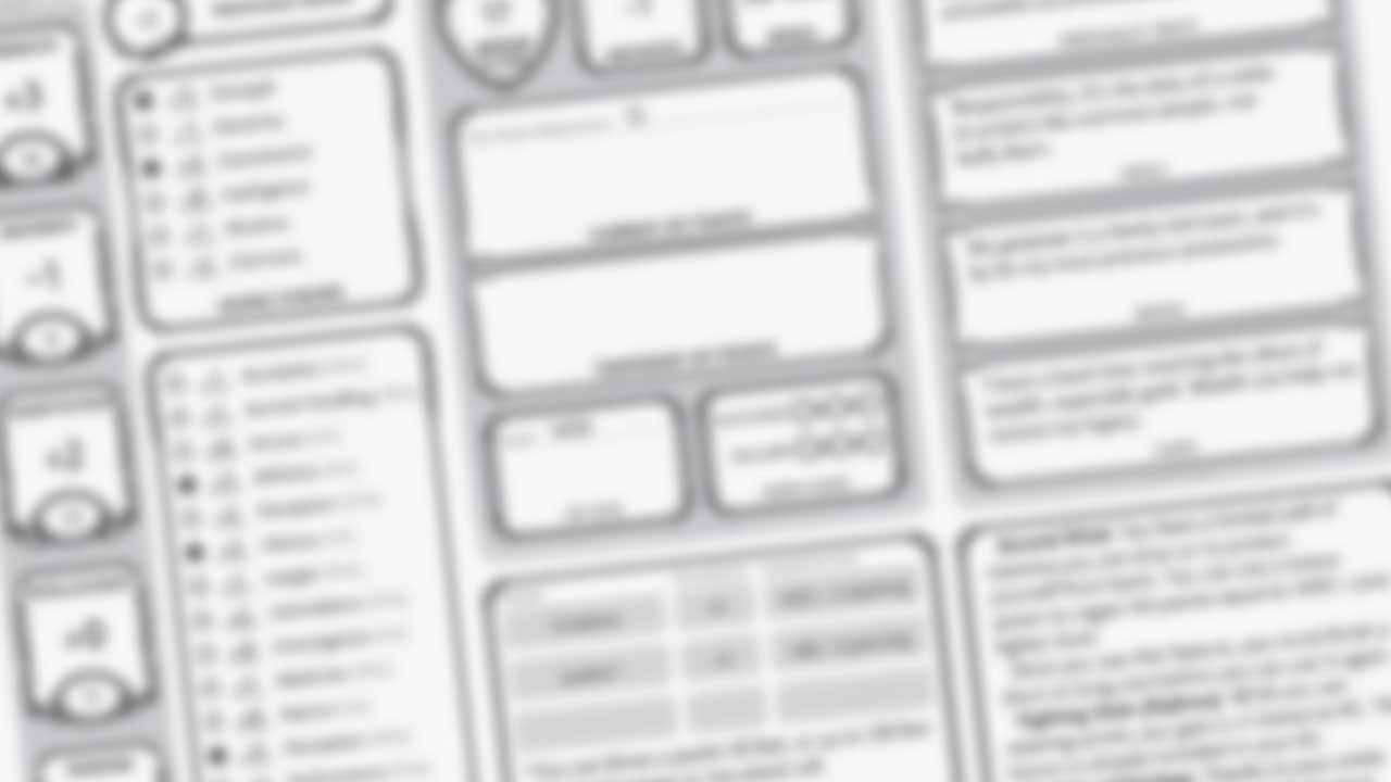 Auto-Fill Character Sheet - Throwing Twenties